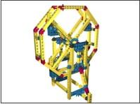 Например модель колеса обозрения