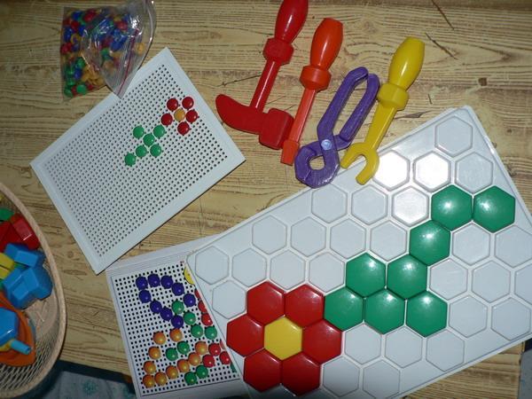 Веселая мозаика.Развивающие игры