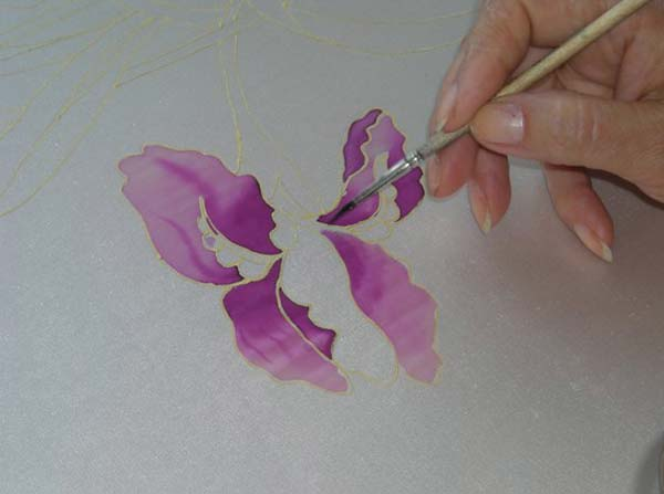 Техники росписи по шелку. Развитие творческих способностей