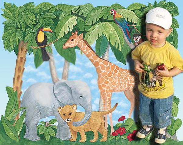 Веселый зоопарк. Научно-познавательные наборы