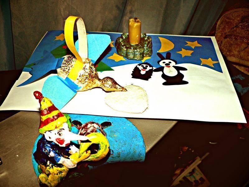 Волшебные новогодние игрушки-мастерим сами! Детское творчество