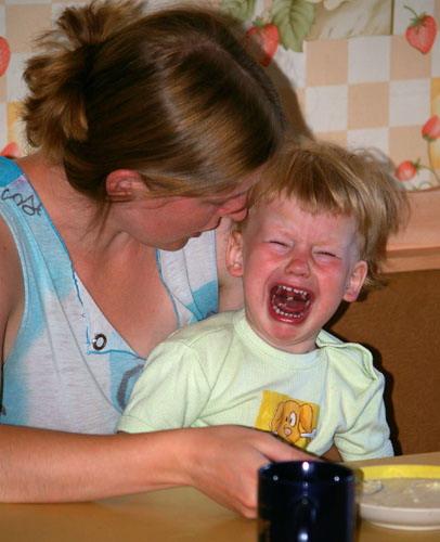 Что делать, если у ребенка началась истерика?