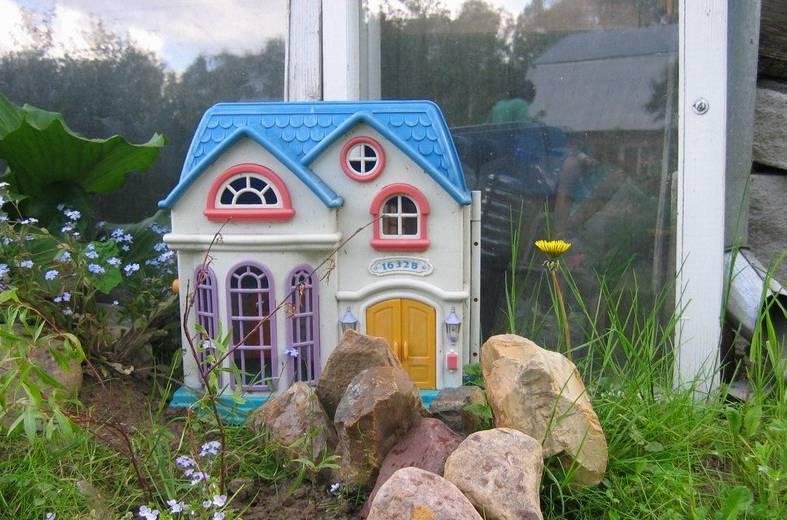 Зеленый уголок во дворе. Организация детства