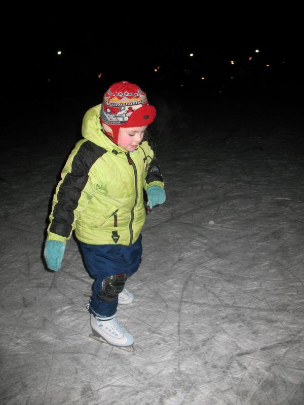 Ставим ребенка на коньки. Физическое развитие