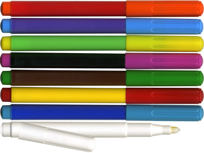 Сравниваем фломастеры и маркеры. Выбор фломастеров.