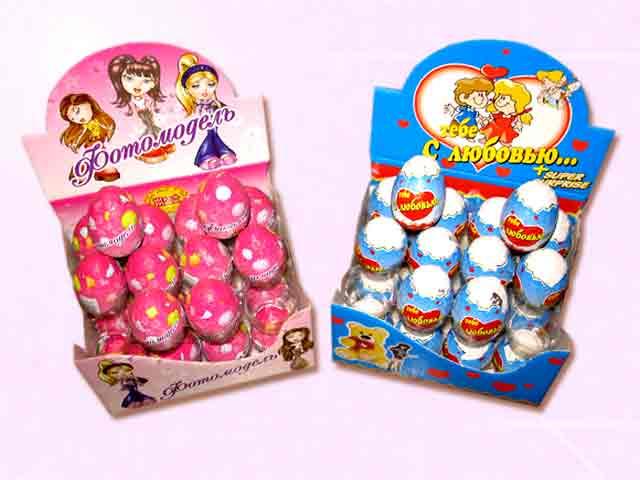 Сравниваем товары для детей. О том, как нужно выбирать шоколадные яйца с сюрпризом для детей