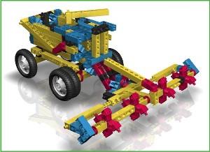 Что представляют собой пластиковые и деревянные конструкторы Engino и какие модели можно из них собрать