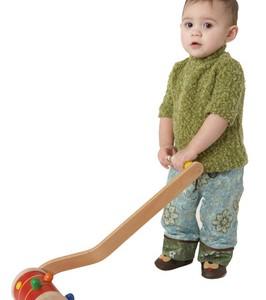 Игрушки-ходунки относятся к многофункциональным развивающим игрушкам. С ними можно играть просто сидя на полу или в кроватке, развивая свои тактильные ощущения, моторику, слуховое и визуальное восприятие, мышление и логику. Потом они станут надежной опорой вашему малышу при освоении своих первых шагов.