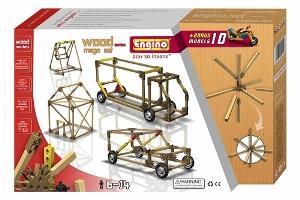 Деревянный конструктор для детей MegaSet отличается от других наборов ENGINO тем, что он делает возможным техническое конструирование в категории игрушек из дерева