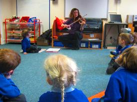 В жизни детей должна быть музыка, также как сказка, игра… С помощью музыки можно показать красоту окружающего мира, развить духовные силы и творческую активность маленького человека