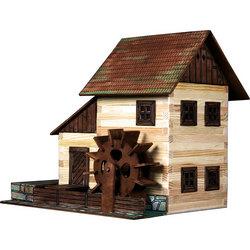 Деревянные конструкторы для сборки дома и зданий, какие фирмы представлены, что собой представляют