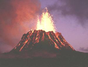 Как сделать модель действующего вулкана в домашних условиях