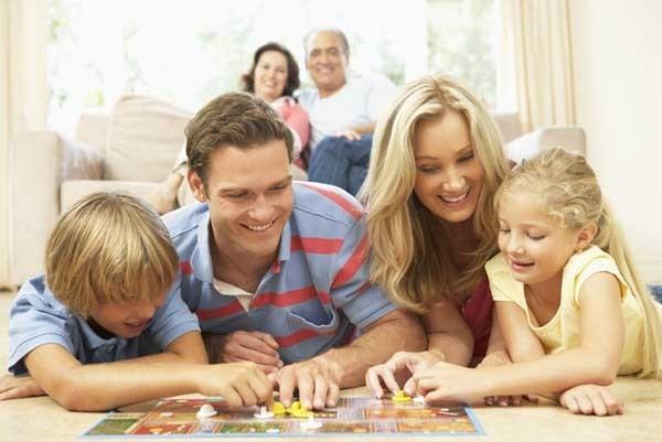 Настольные игры - лучший способ провести время с ребенком!