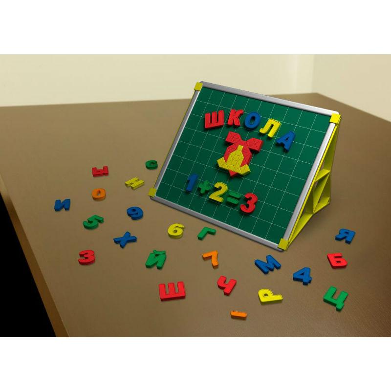 Учебная доска Magneticus с буквами и цифрами