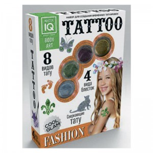 Набор для временных татуировок Fashion