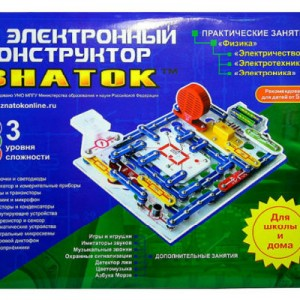 Конструктор ЗНАТОК «Для школы и дома» («999 схем и Школа»)